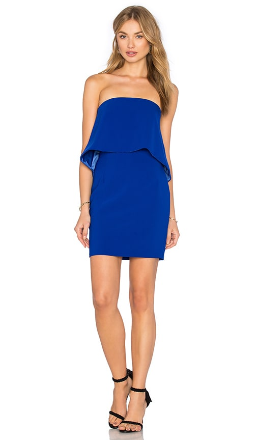 Jay Godfrey Viola Dress in Blue