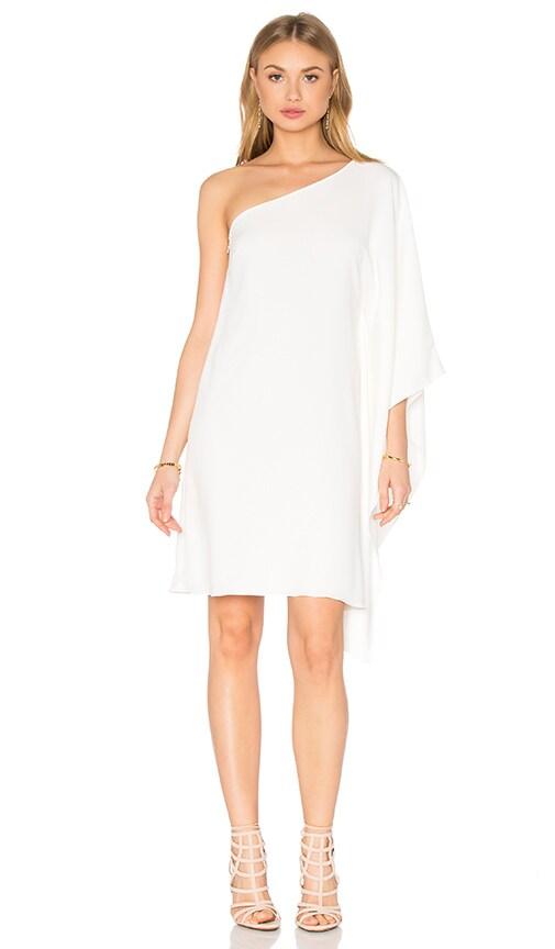 Jay Godfrey Marino Dress in White