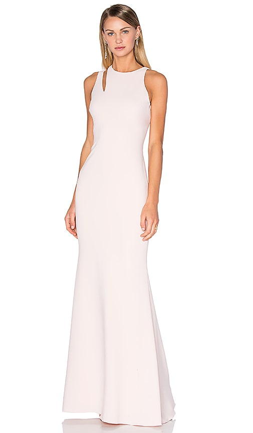 Jay Godfrey Woods Gown in Blush