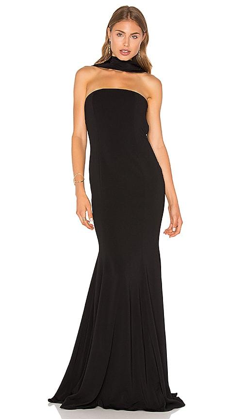 Jay Godfrey Brooklyn Gown in Black