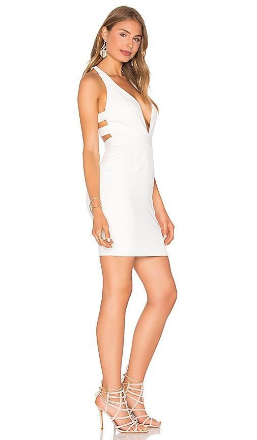 Jay Godfrey Paris Dress in White