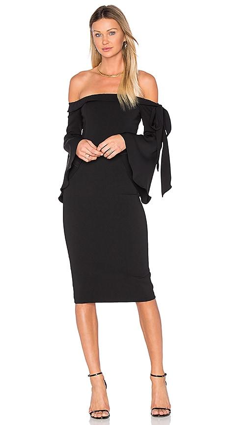 Jay Godfrey Phoenix Dress in Black
