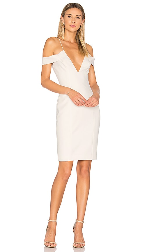 Jay Godfrey Hoy Dress in Ivory