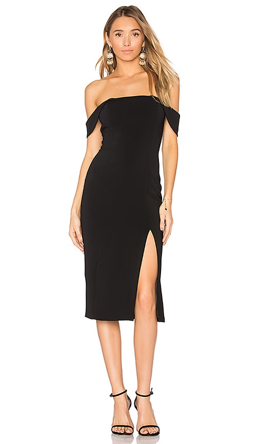 Jay Godfrey Downie Dress in Black