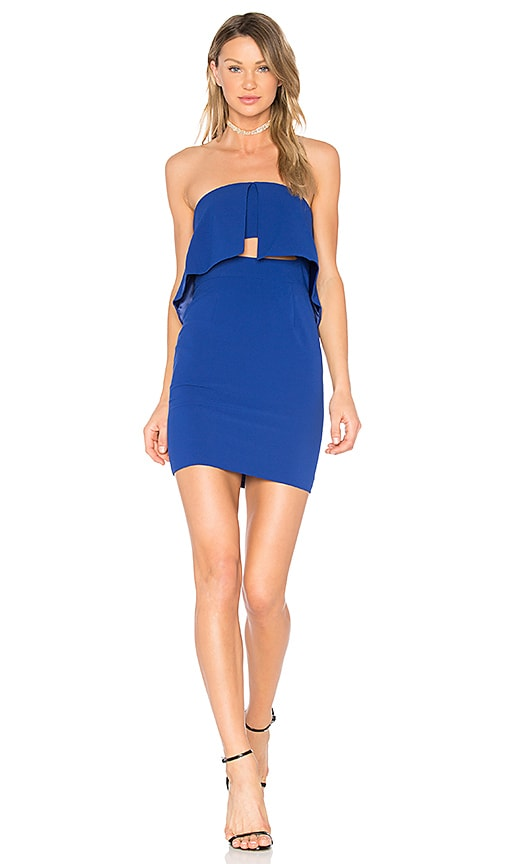 Jay Godfrey Kraus Dress in Blue