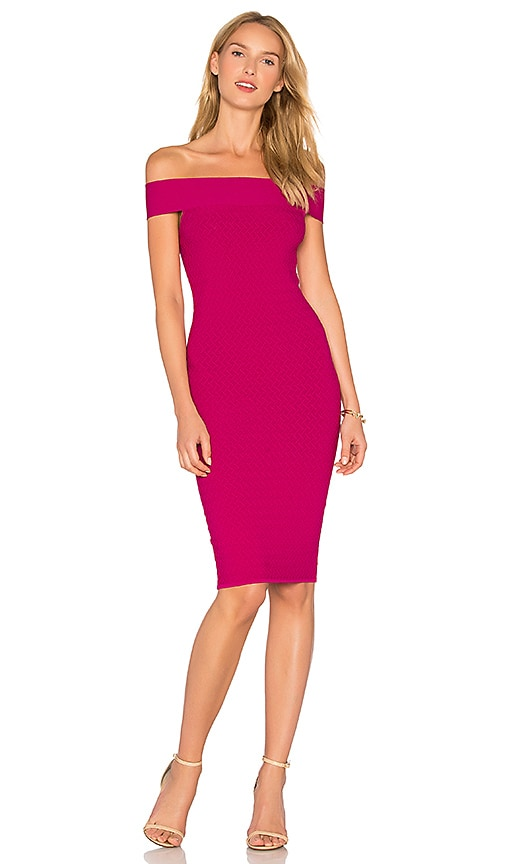Jay Godfrey Roy Dress in Purple
