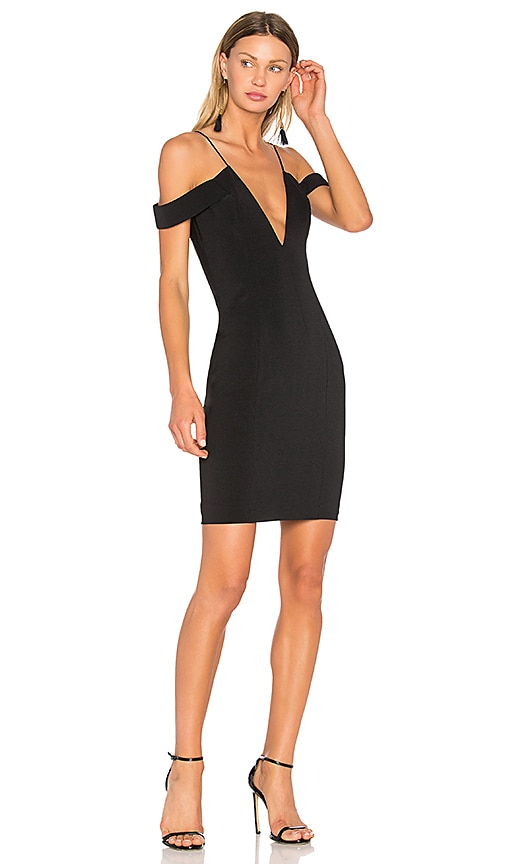 Jay Godfrey Hoy Dress in Black