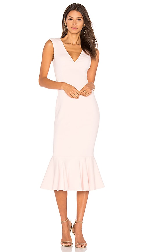 Jay Godfrey Vaughn Dress in Pink