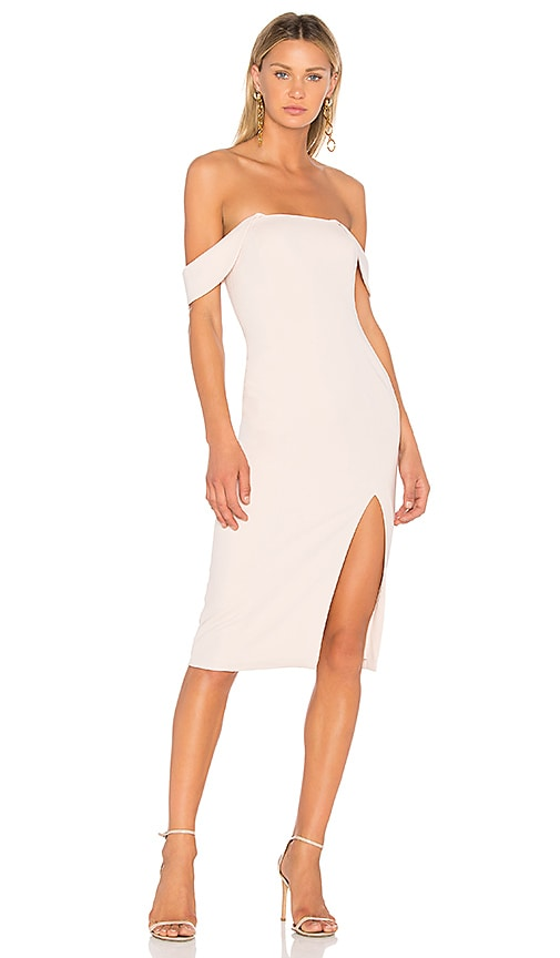 Jay Godfrey Downie Dress in Blush
