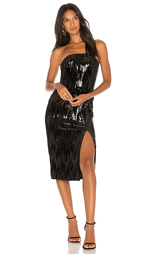 Jay Godfrey Astor Dress in Black
