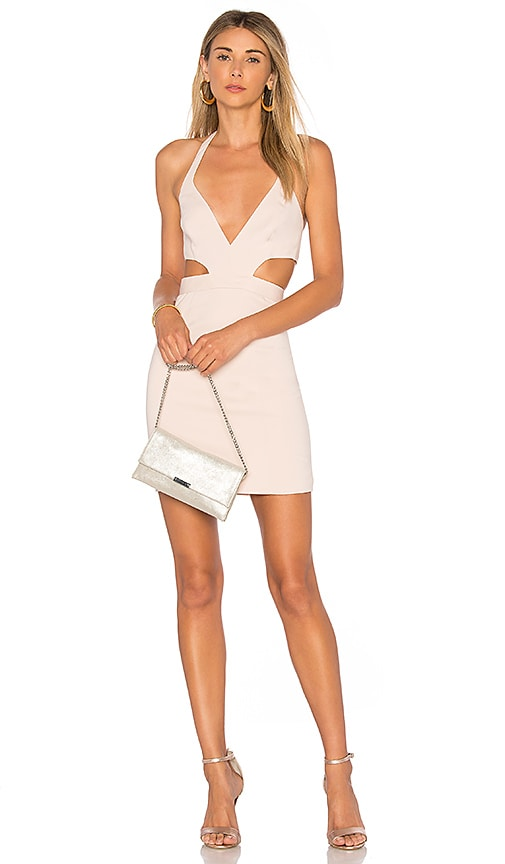 Jay Godfrey Savoy Dress in Blush