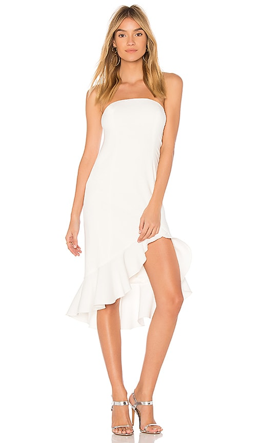 Jay Godfrey Harrington Dress in Ivory