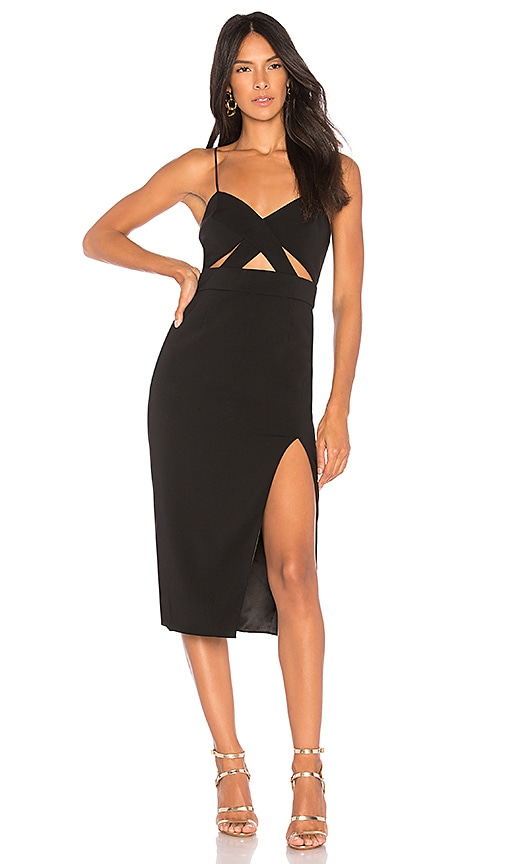 Jay Godfrey Roper Dress in Black