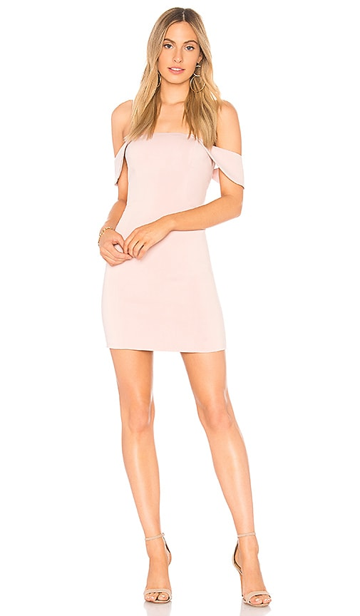 Jay Godfrey Whitney Dress in Blush