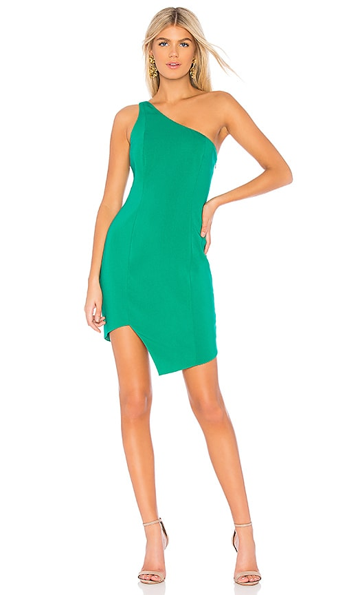 cf51c67a39d Jay Godfrey Johnson Dress in Vibrant Green