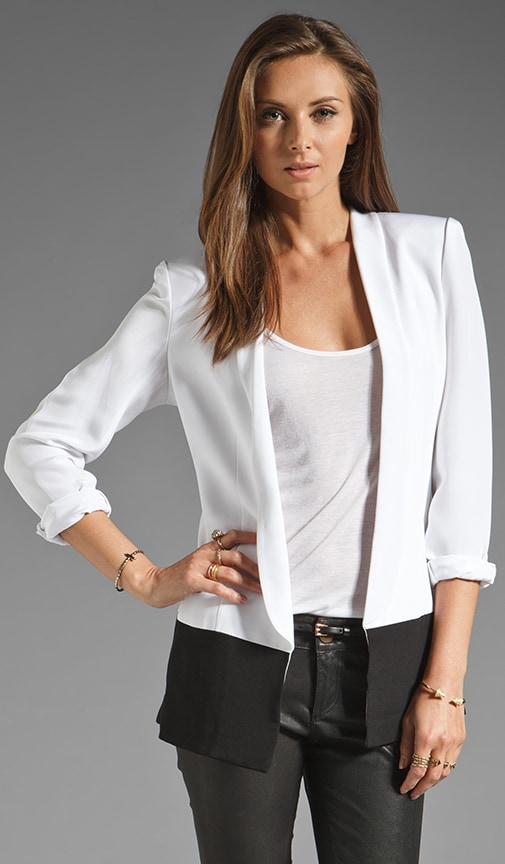 Nickel Colorblock Blazer
