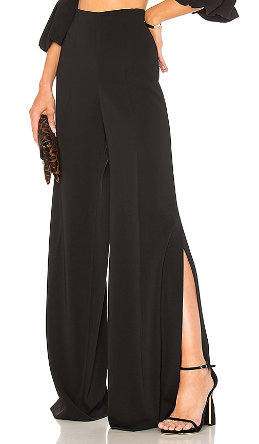 Jay Godfrey Tilden Pant in Black
