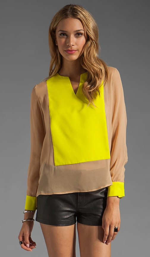 Fillmore Colorblock Blouse