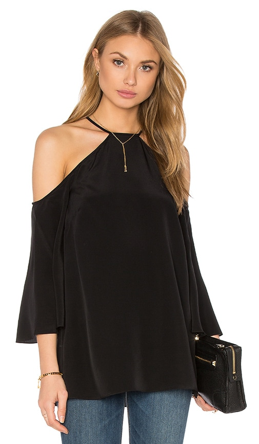Jay Godfrey Brenly Top in Black