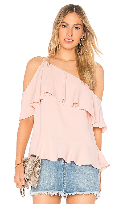 Jay Godfrey Favell Top in Blush