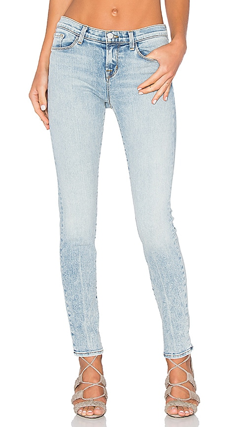 J Brand Mid Rise Skinny in Decades Crease