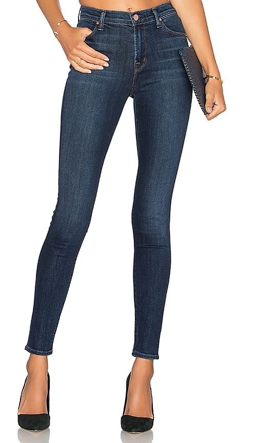 J Brand Maria High Rise Skinny in Fleeting