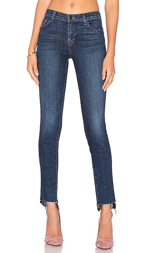 J Brand 811 Mid Rise Skinny in Mesmeric