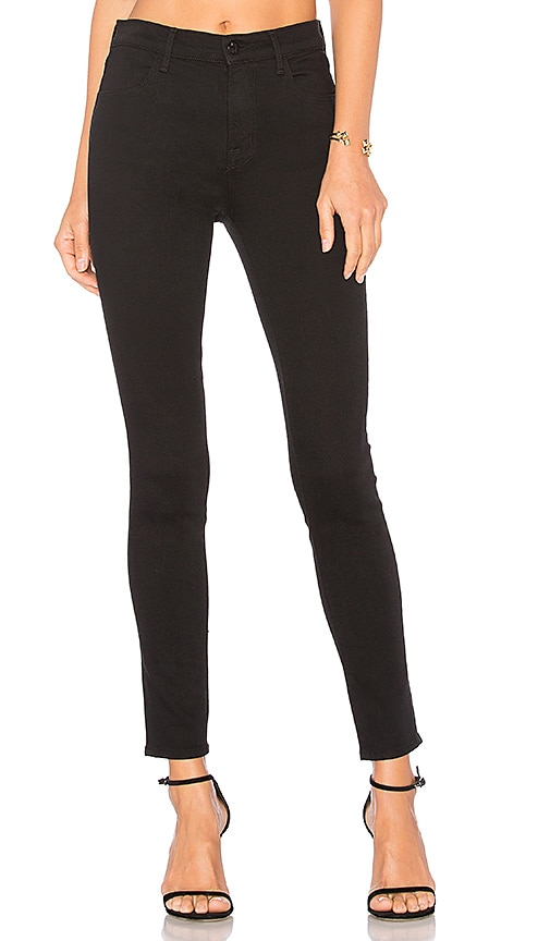 8455d702d7b3 J Brand Maria High Rise Skinny in Seriously Black | REVOLVE