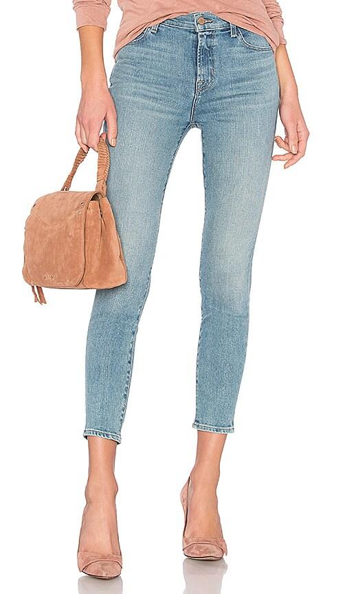 J Brand Alana High Rise Crop Skinny Jean in Surge