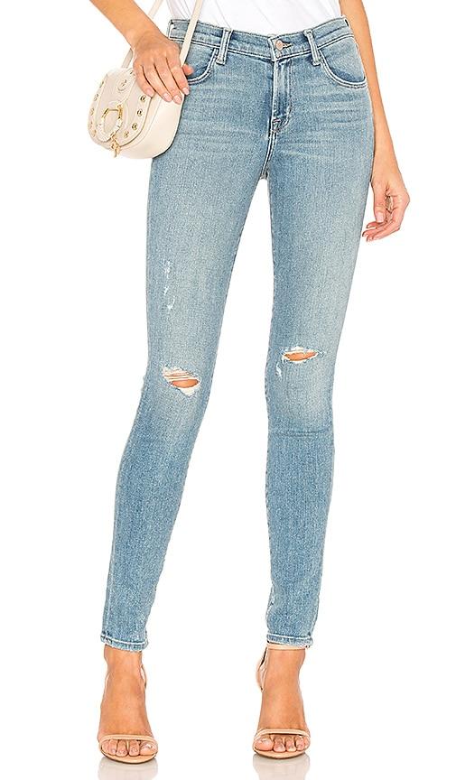 c3dde6d16393 J Brand 620 Mid Rise Super Skinny Jean in Surge Destruct   REVOLVE
