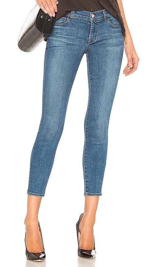 J Brand 9326 Low Rise Crop Skinny Jean in Lovesick