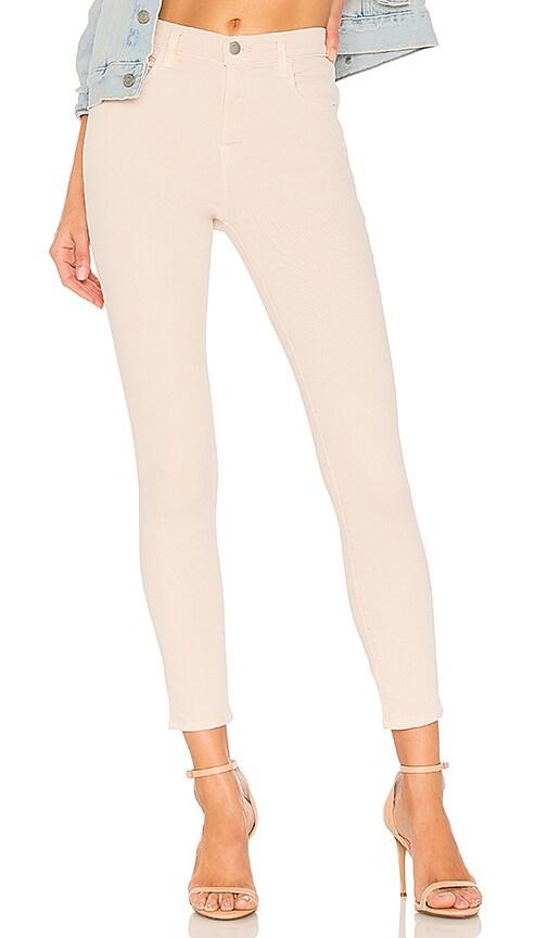 J Brand Alana High Rise Crop Skinny Jean in Memory
