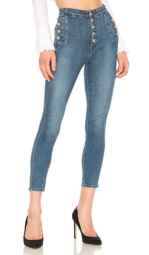 Natasha Sky High Skinny Cropped Jean