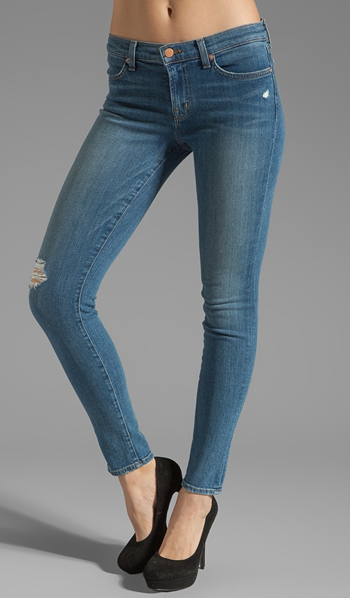 Jean Super Skinny taille moyenne