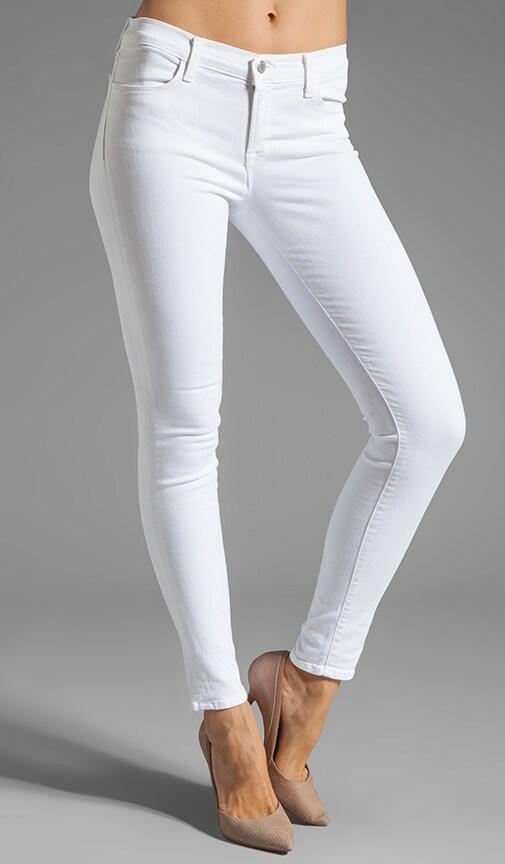 Jean Super Skinny avec œillets sur le dos des jambes
