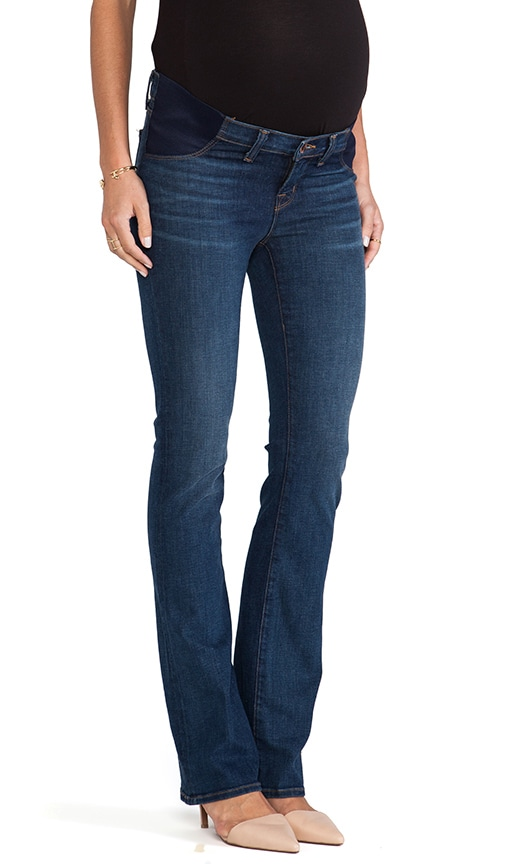 Maternity True Blue Medium Wash Skinny