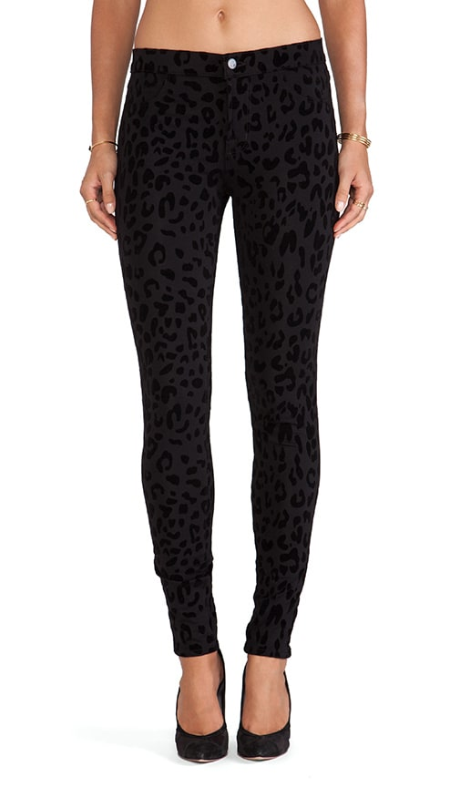 Leopard Skinny Jean