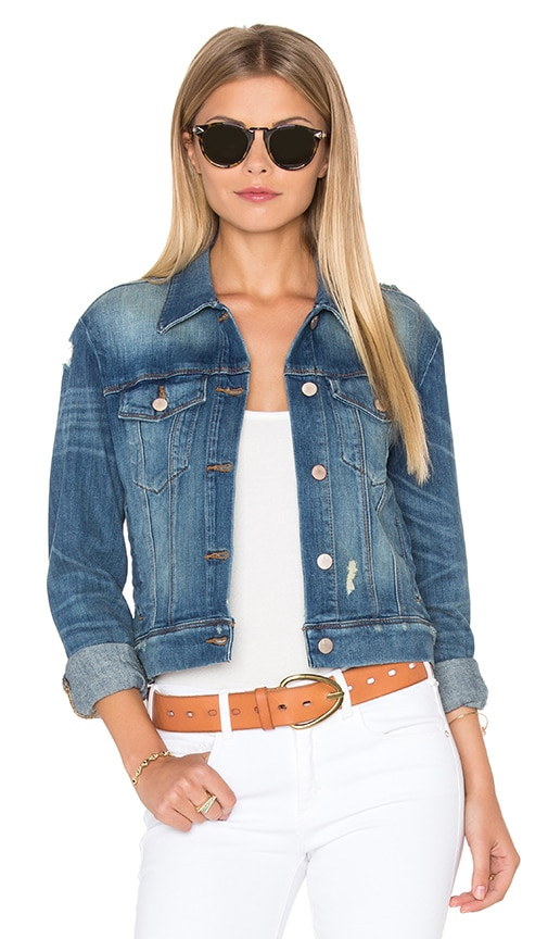 J Brand Harlow Jacket in Fiction