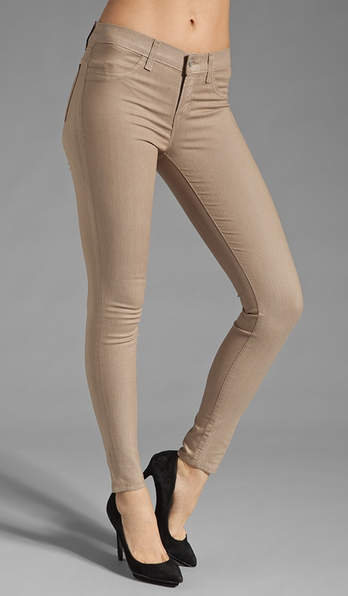 Low Rise Coated Legging