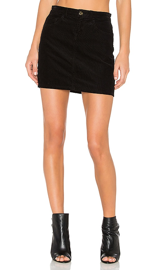 J Brand Gwynne Skirt in Black