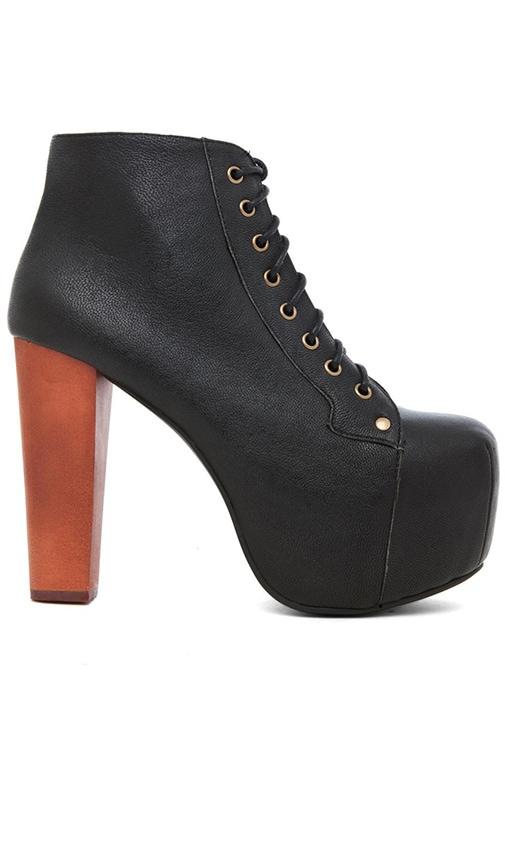 Boots à lacets Lita avec patin