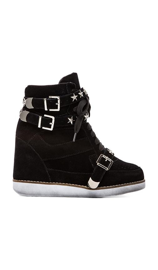 EXCLUSIVE Bonn Star Suede Wedge Sneaker