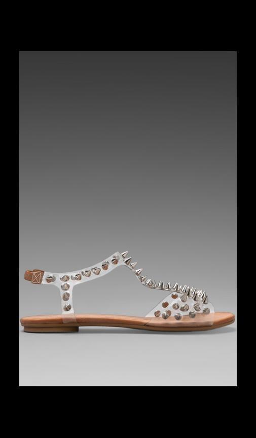 Puffer Studded Sandal