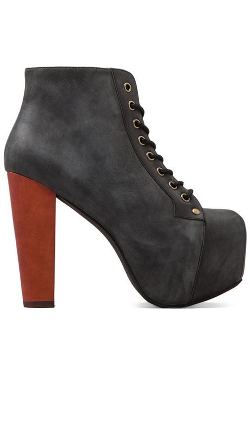 Lita Platform Lace-up Boot