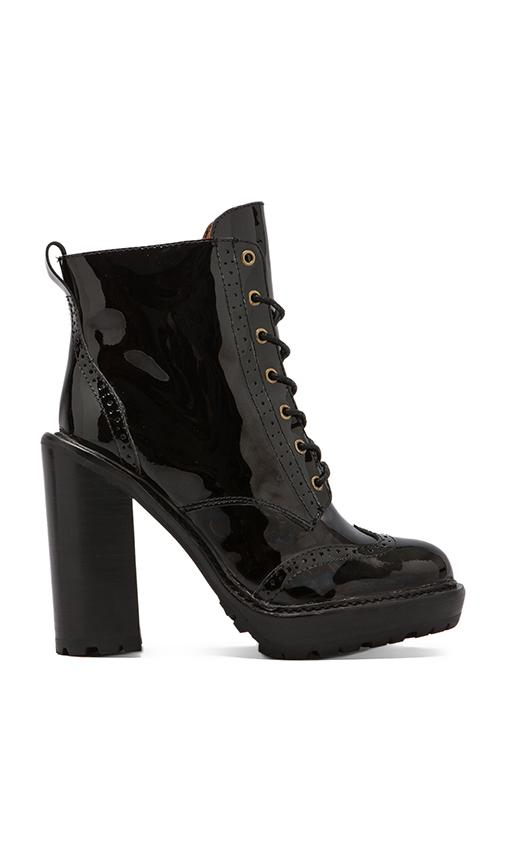 Forks Lace Up Leather Boot