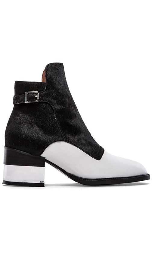 Leto Bootie with Cow Hair