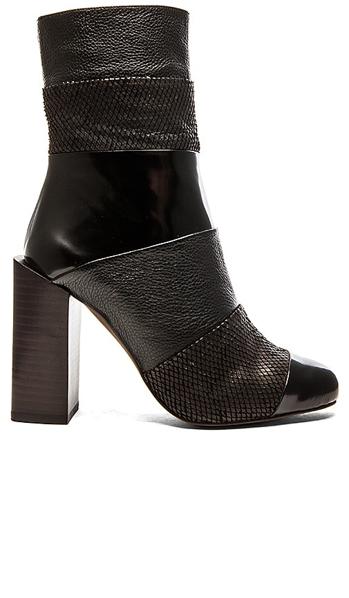 Jeffrey Campbell Pezzi Boot in Black Combo