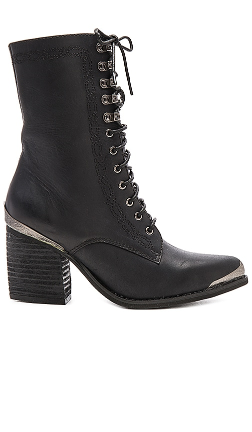 Jeffrey Campbell Boothe Mt Booties in Black