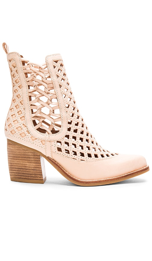 Jeffrey Campbell Diablo Booties in Natural