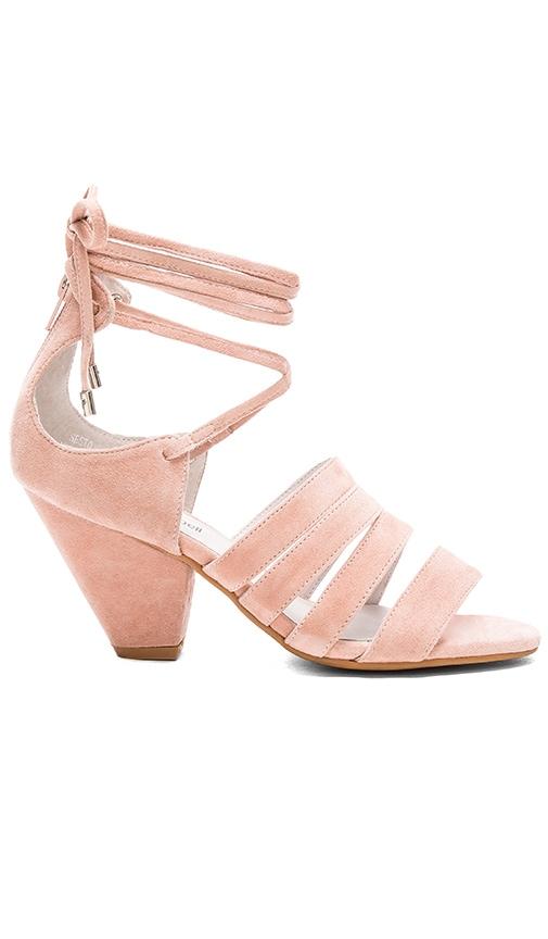 Jeffrey Campbell Sesto Heel in Pink Suede